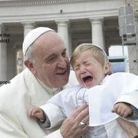 I'M the f*cking pope!