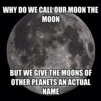 The Moon's Name