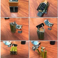 I've just realize that a 9V battery is an arrangement of 6 AAA (1.5V each) batteries
