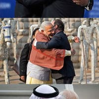 The Prime Minister of India doesn't care who you are, he just wants to hug you