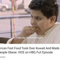 Americans now making other people fat