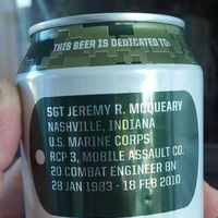 Beer for the fallen