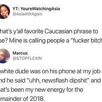 Newsflash dipshit