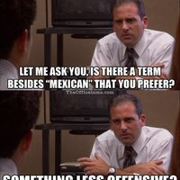 Well, If you're going to be racist, you might as well be Michael Scott racist