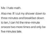 Math h8rs wya