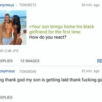 Anon's son is a chocolate chaser