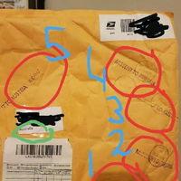 Australian package sent to Austria 5 times