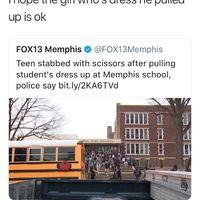 Thoughts and prayers for the dress