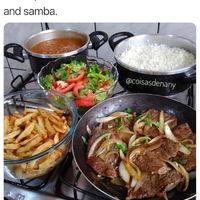 A regular Brazilian lunch