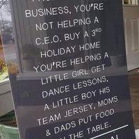 Shop local everyone