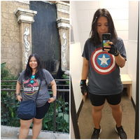 Keto for 15 months. From 220 to 158 (size 18 to size 11). Now I'm just working out