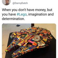 No money but Imagination is all that I need