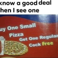Pizza and chill combo