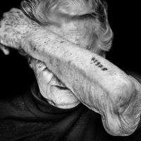 Today (27.01) is the International Holocaust Remembrance Day. This is an image taken by
