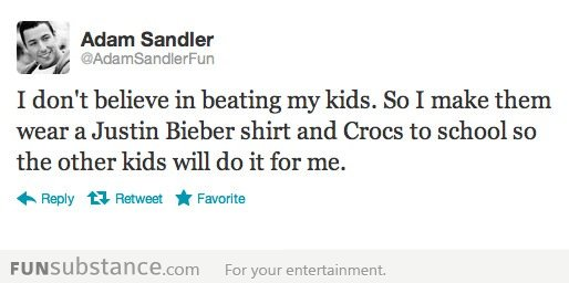 Adam Sandler is a good father