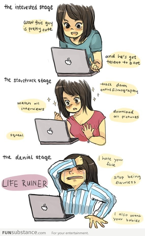 Fangirl Stages