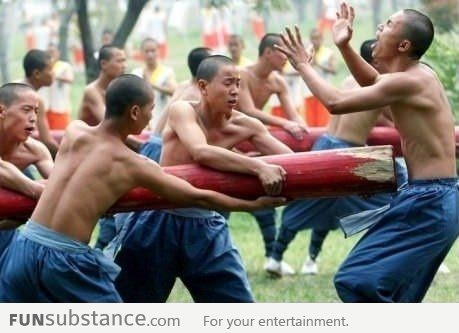 Take Kung Fu Classes they said