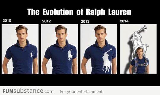 evolution of polo ralph lauren