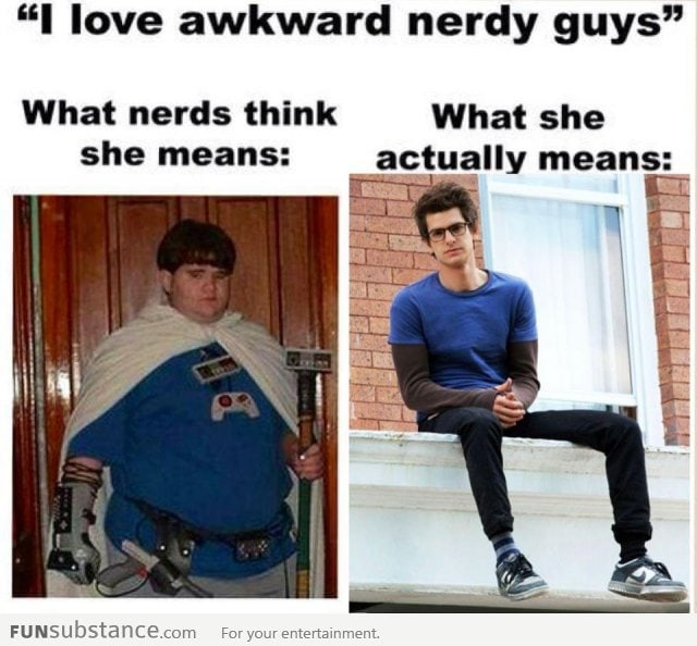 "What girls means by ""nerd"""