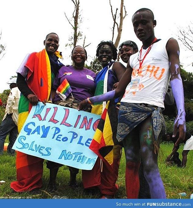 Uganda Gay Pride Parade