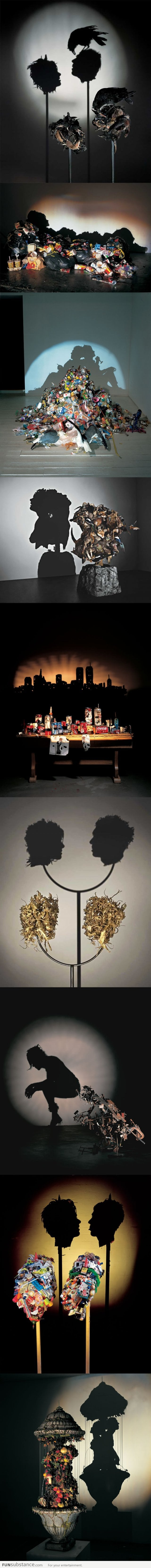 Brilliant shadow art