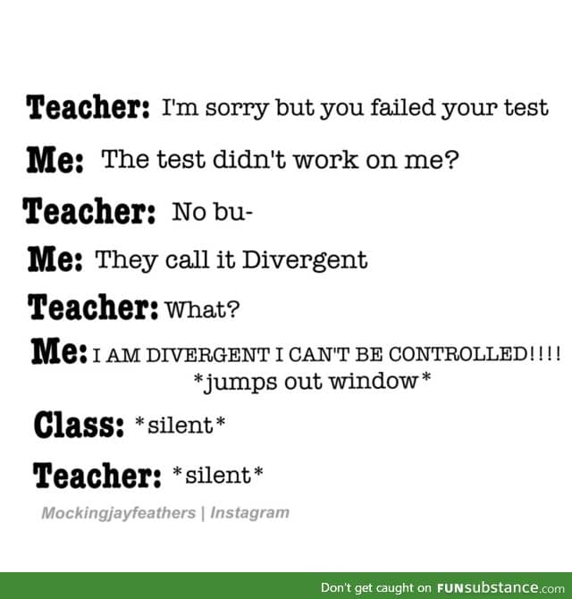 They call it divergent