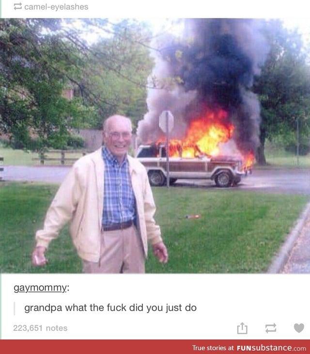 grandpa pics me Fuck