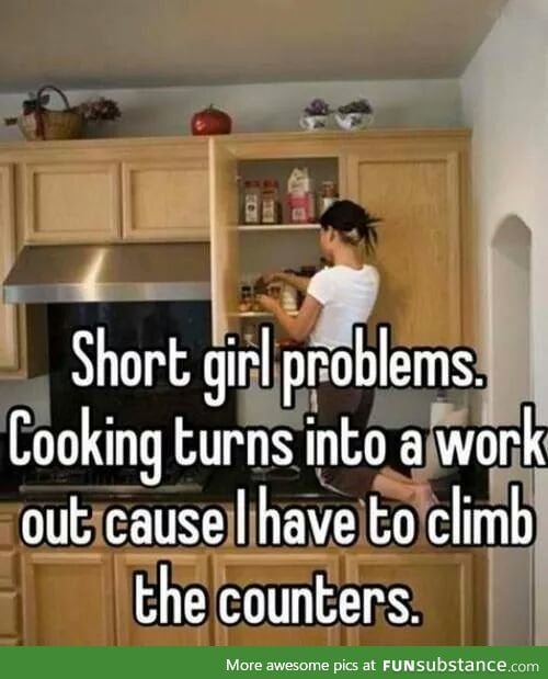 Short people are more down to earth tho