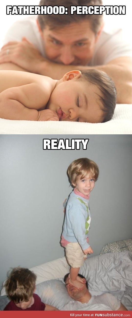 Fatherhood: Perception vs. Reality