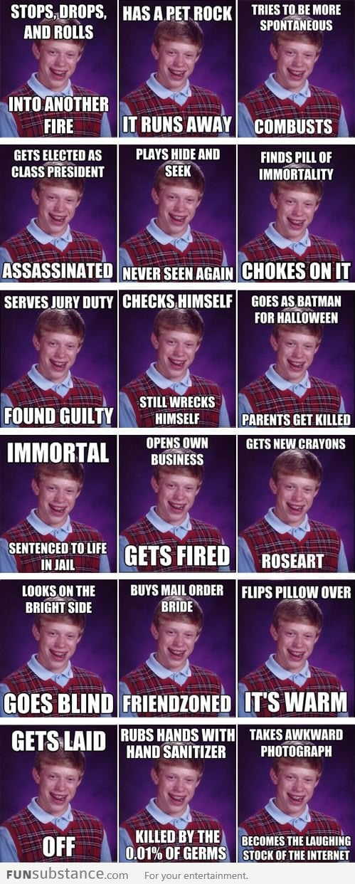 The Best of Bad Luck Brian