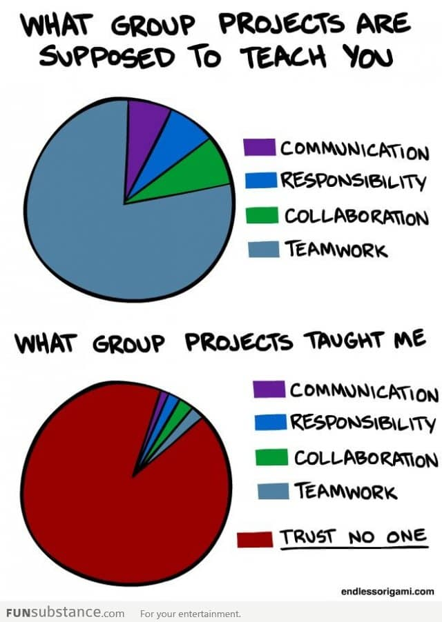 What group projects thought me