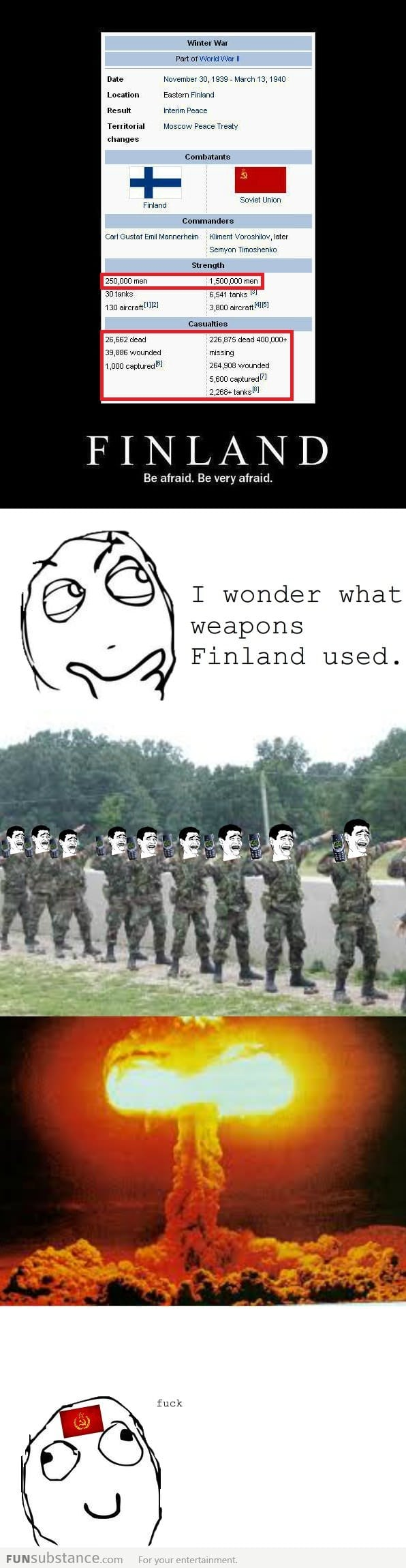 Finland is the boss!