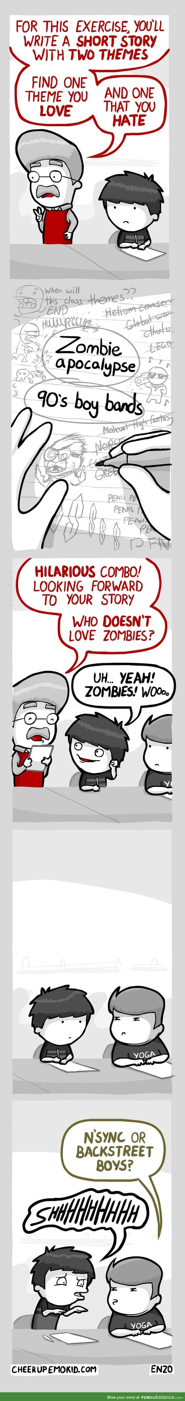 Boy Bands and Zombies!