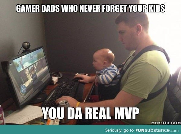 Funny Memes For Dads : Gamer dads funny humor awesome image #4139438 by f5lol on