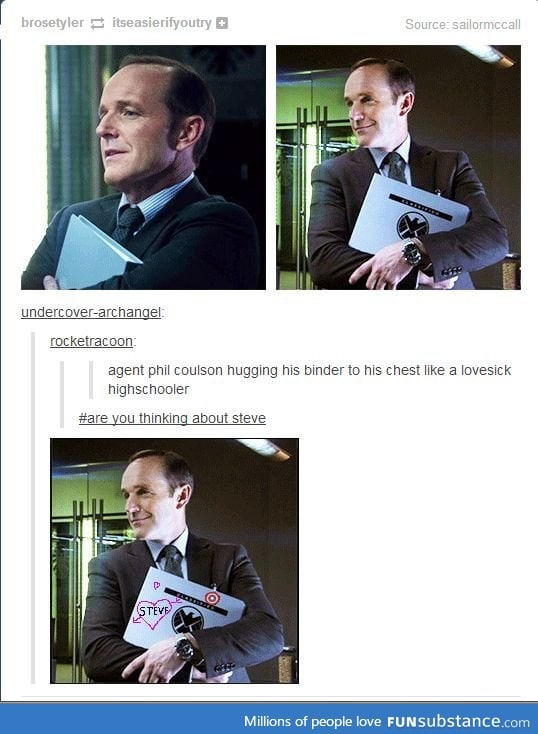 Coulson is basically us