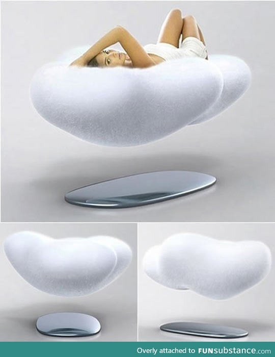 Magnetic floating couch, I want this