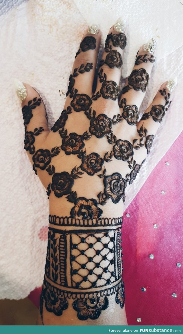Awesome wedding henna