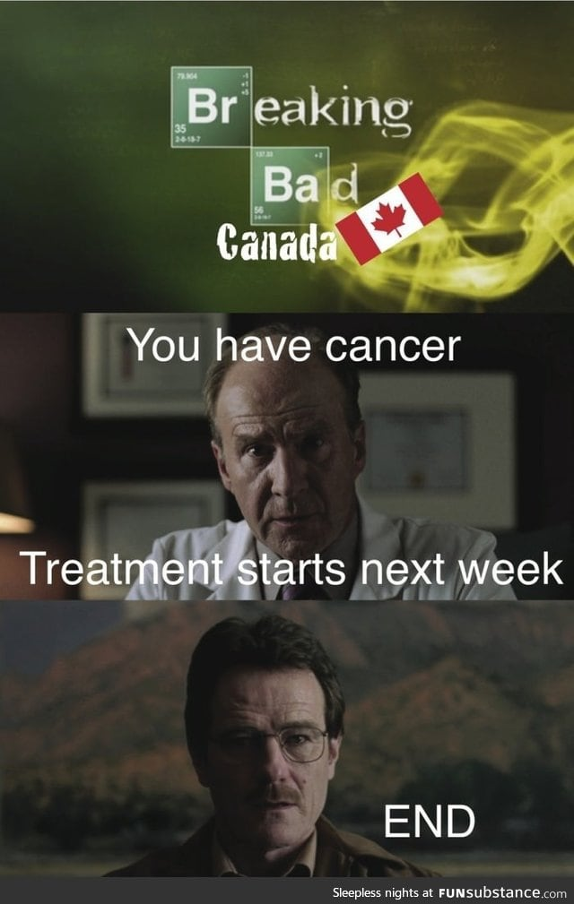 If Breaking Bad was in Canada