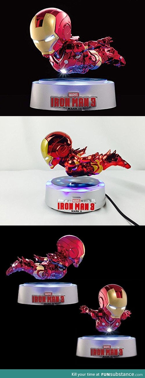 Iron Man Magnetic Floating Action Figure