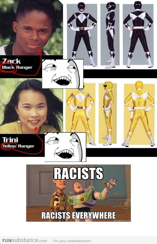 Racists everywhere