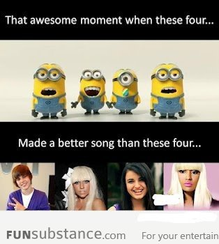That AWESOME moment when these 4 made a better song