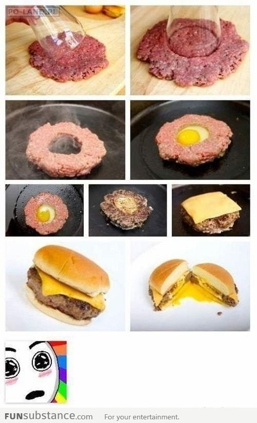 Genius idea for a burger