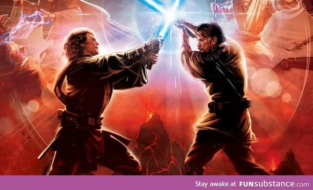 Most epic fight in star wars ever?
