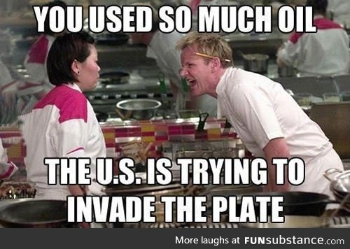 It's hard not to piss off Gordon Ramsay