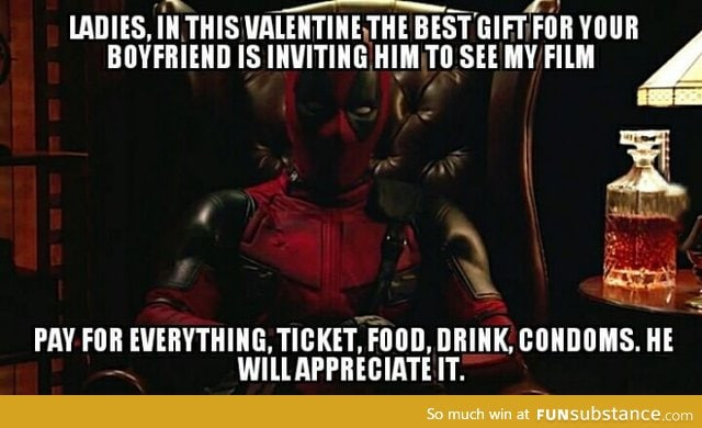 Deadpool's Valentine Advice