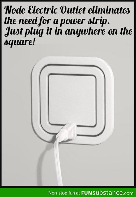 Awesome gadget node electric outlet funsubstance for Cool inventions that are not invented yet