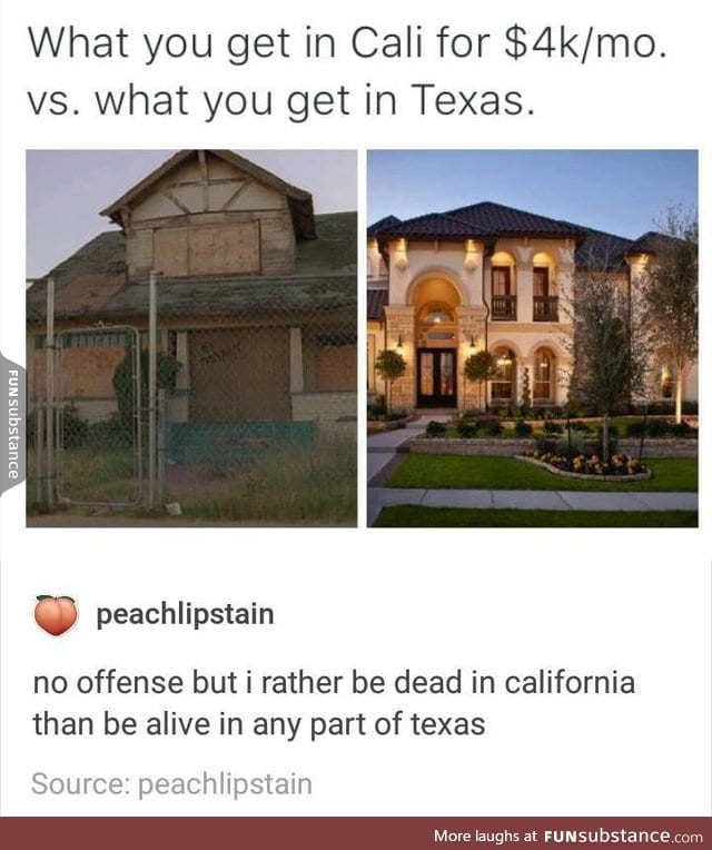 California vs Texas