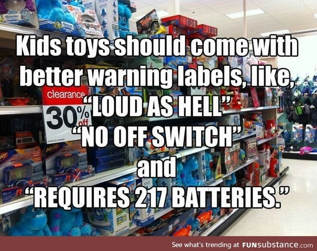 Better warning labels