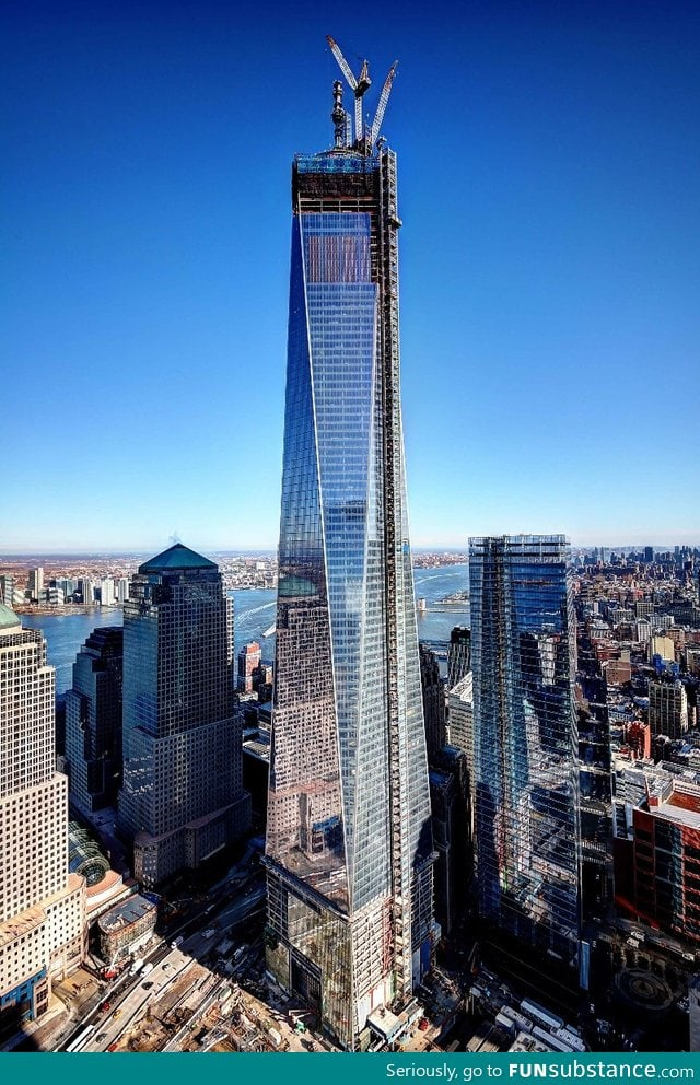 The new World Trade Centre Tower 4