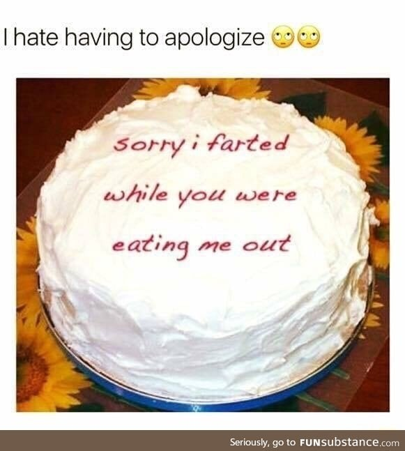 Most embarrassing apology